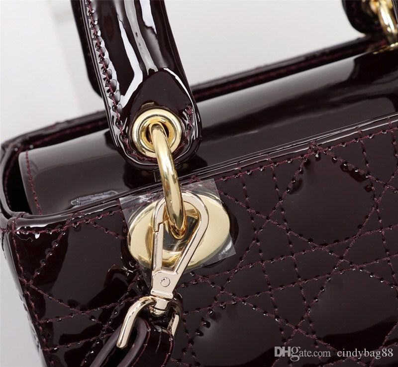 Patent neue Frauen 20 Schulter tragbare massive Lederfarbtaschen Mode Temperament Taschen Messenger Persönlichkeit 2021 s WGNSI