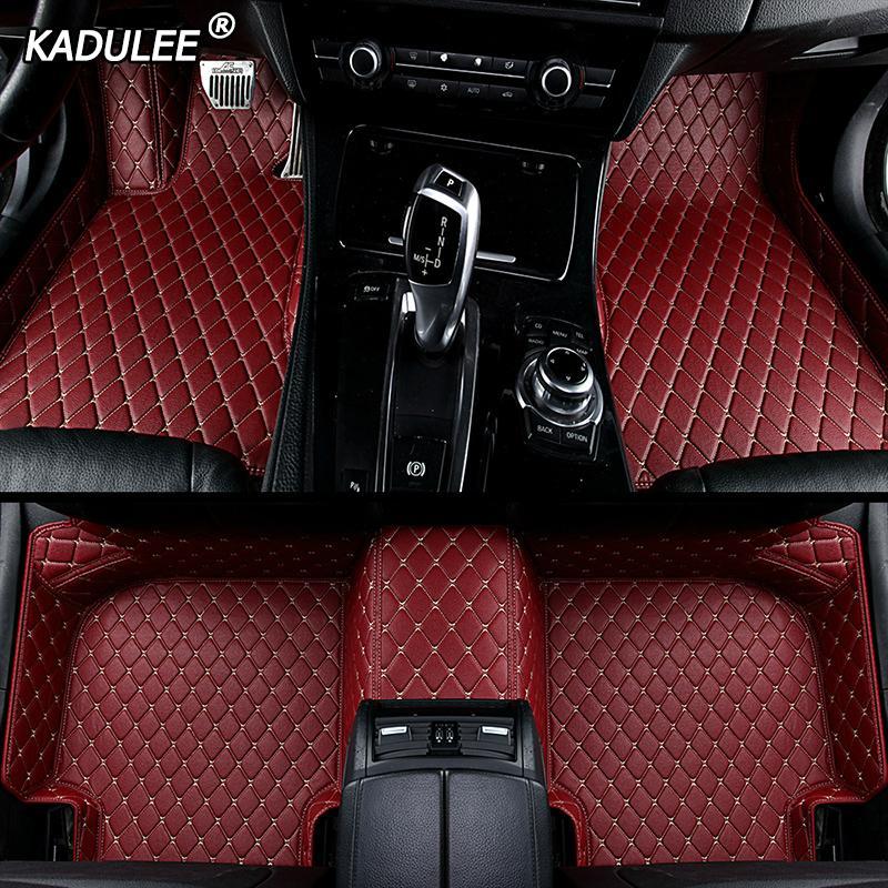 Tailored Black Car Floor Mats Carpets 4pc Set for BMW Mini R56