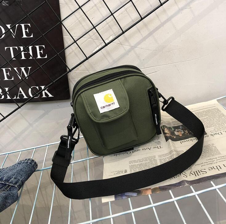 Nova Marca mini Cross Body Bag Hip Hop Pacote Ao Ar Livre Pacote Peito Unisex Fanny Pack Saco Da Cintura Sacos de Ombro Da Lona bolsa Mensageiro Sacos
