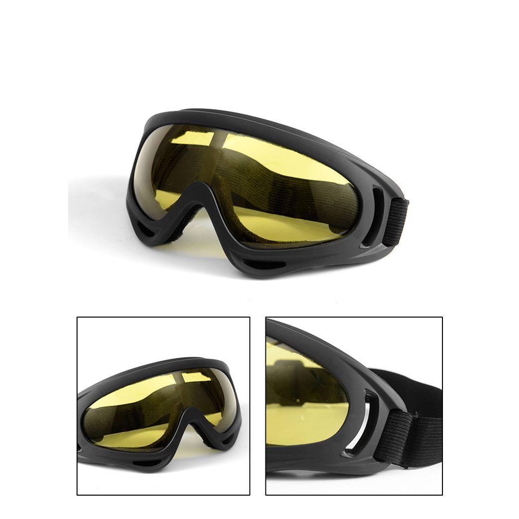 Azionario statunitense della bici del motociclo di motocross di ATV Protezione UV Snowboard Ski Off-road occhiali di protezione FITS FY6268 OLTRE