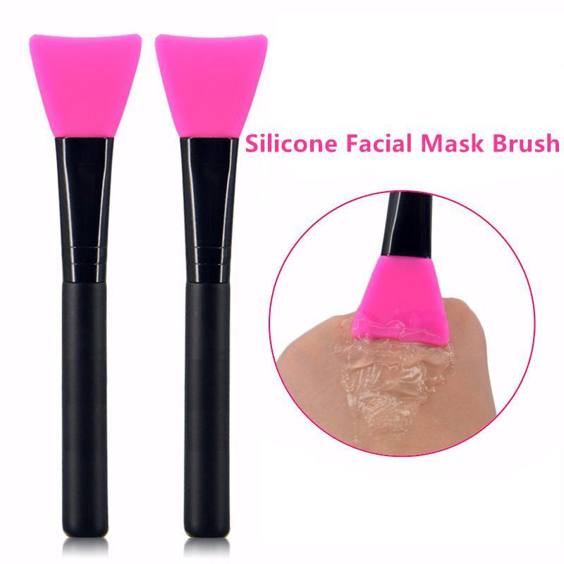 Professional Makeup Brush Silicone Facial Mask Brush Cream Mixing Silicone Brush Face Skin Care Tools Makeup Tools