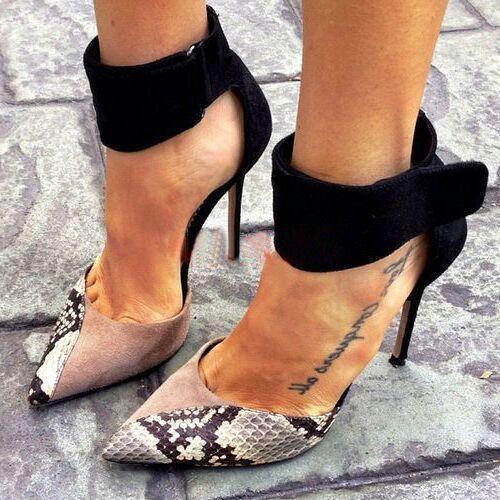 Pop2019 Magic Zone Side Air Fine - Chaussures à talons hauts Talon pour femmes