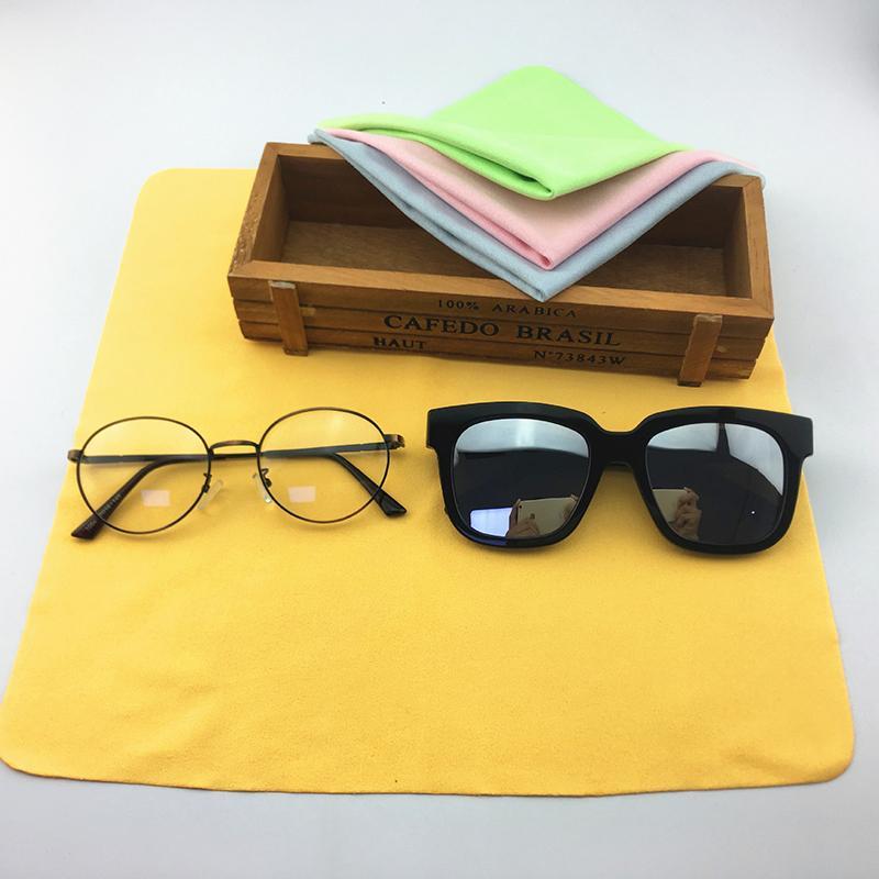 نظارات تنظيف قماش الهاتف النقال قماش 50pcs مناديل قماش العدسة للعدسة للنظارات حاسوب آلة تصوير ماك