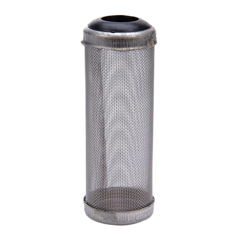 Filtro estraibile in acciaio Cassa / Mesh / gamberetti Nets Special Set gamberetti cilindro del filtro afflusso ingresso Proteggere Acquario Accessori