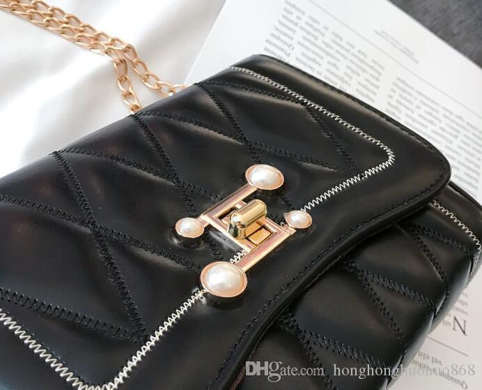 2021 hot nuovo autunno e inverno piccola delle borse del sacchetto nuova borsa crossbody coreana di modo della spalla 2019 catena ins Wild Wind