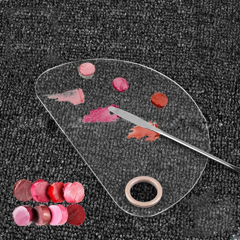 1 Adet Göz Farı Paleti Vakfı Kapatıcı Pudra Pan Aracı Up Renk Paletleri Kozmetik Makyaj Spatula Tavalar olun Karıştırma boşaltın