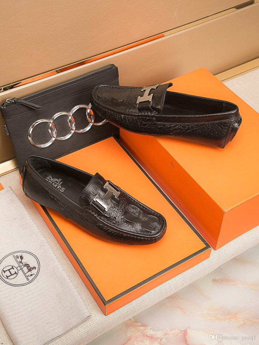Plus Size 38-45 Men Dress Mocassini con nappe Vintage British Style Slip in pelle sintetica On Men Wedding F Shoes Drop Shipping
