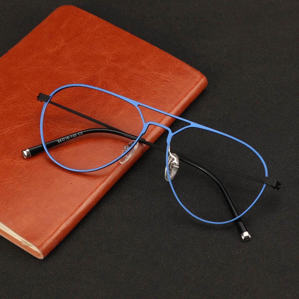 Pure EyeGlasses Eyewear Titanium Myopia Glasses Frame Cornici ottiche prescrizione GJRQC