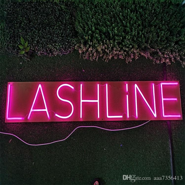 Name card Girls gifts letters words multi color 12v custom neon sign