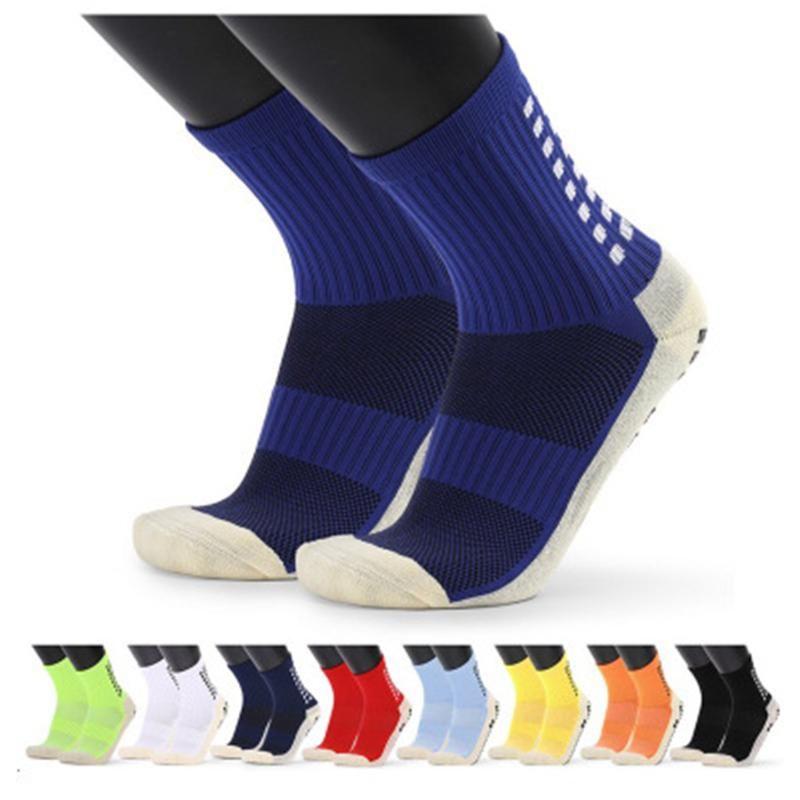 Top Soccer Team Sports Socks Mens Professional Mid Tubo Toalla Toalla Baskets Baskets Masculino Anti Skid Goma Grips Elite Socksait Unisex