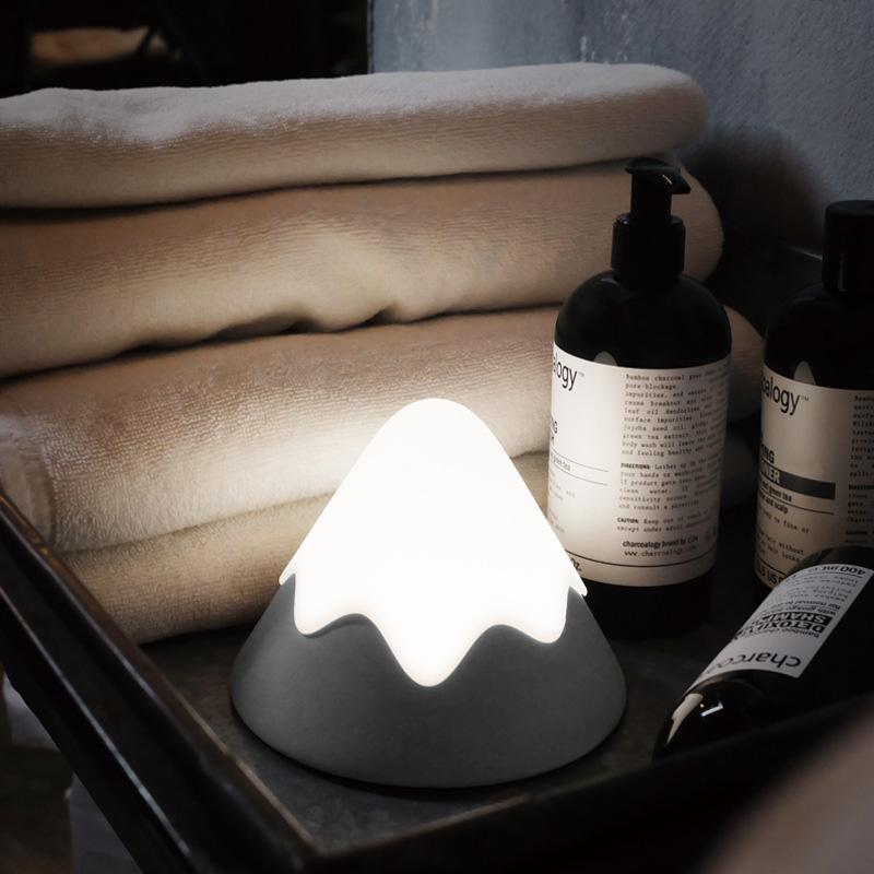 BRELONG Touch-Activated Night Light LED Rechargeable Wireless Motion Sensor Night Lamp Sound Control Bedside Light Timer Brightness