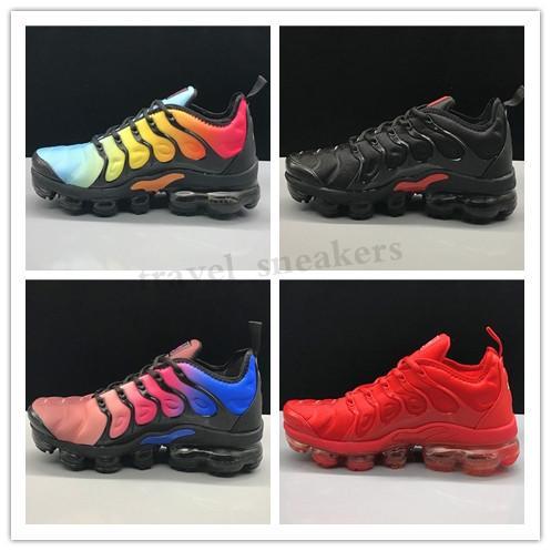 Nike Air Max Tn plus El envío gratuito Nuevo 2020 zapatillas de deporte de calzado transpirable TN Cusion desingers zapatos corrientes ocasionales de la nueva llegada EUR36-45 TG14