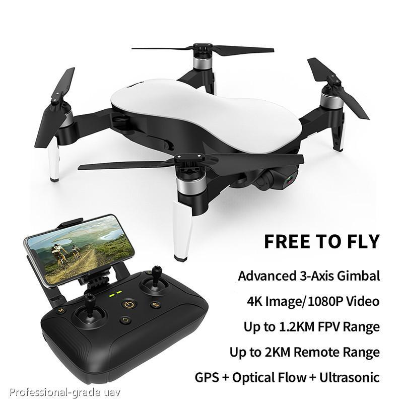 Modo Aurora 5G WiFi FPV Brushless Motor 1080P / 4K HD Camera GPS dupla Posicionamento dobrável RC Drone Quadrotor RTF Fly 1.2Km A04