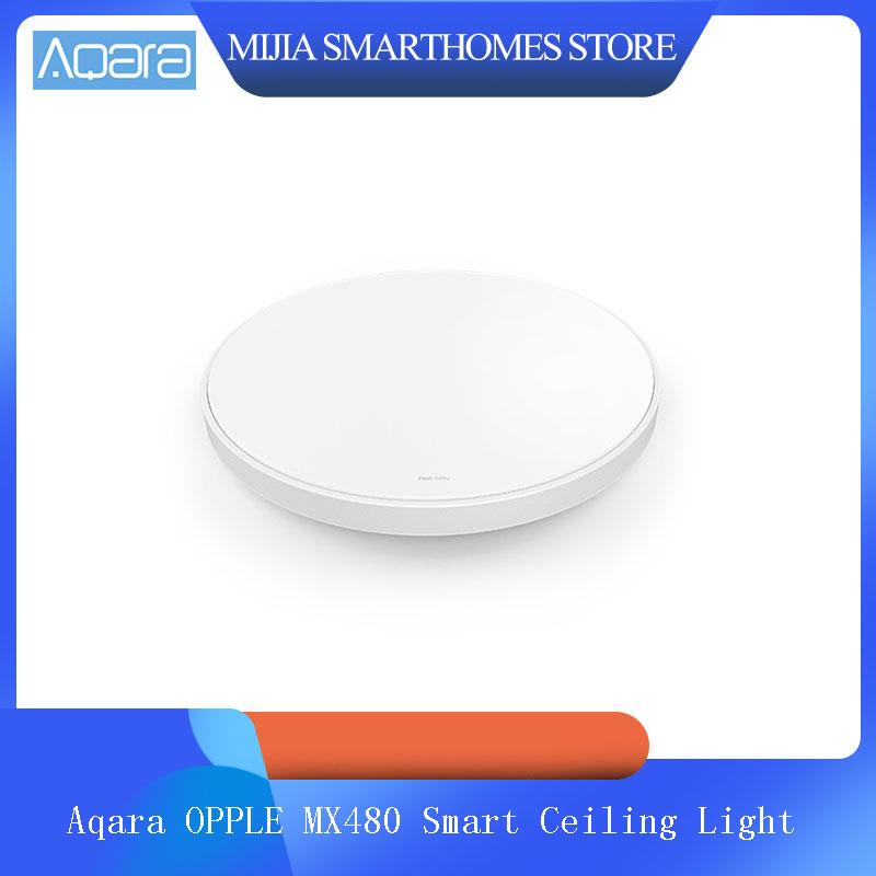 Aqara OPPLE MX480 스마트 천장 조명 APP 음성 제어 색상 조절 온도 LED 램프 지원 애플 Homekit