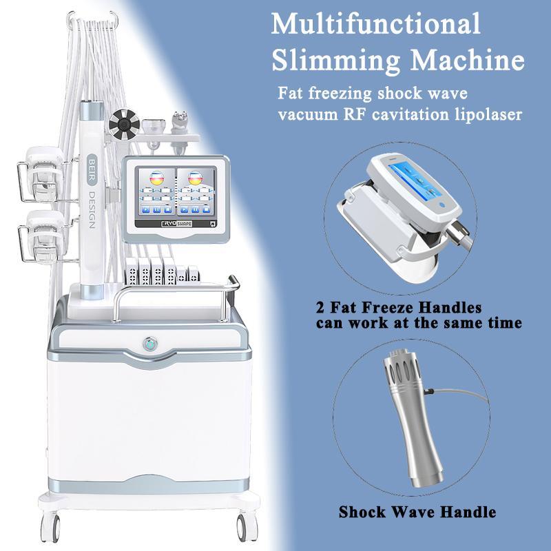 صالون استخدام الصدمات العلاج صدمات منخفضة كثافة آلة موجة صدمة ل ed 40K بالموجات فوق الصوتية شفط الدهون التجويف فراغ rf الدهون تجميد التخسيس