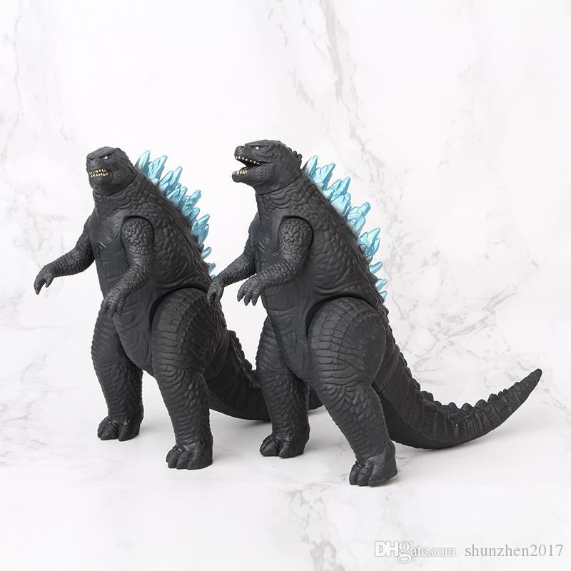 Gojira Gomora Dinosaur Monstros segunda geração Limbs Dolls Dolls Filme modelo Decorações Kids Brinquedos