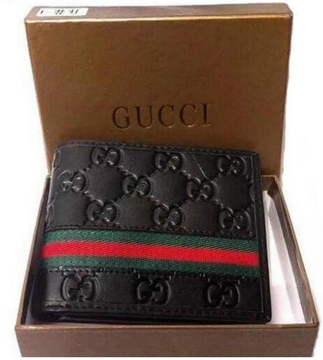 nuevos bolsos populares carpeta de la manera cartera de cuero portátil de la marca cartera de cuero paquete de descuento de los hombres billeteras promocionales de este año ACD