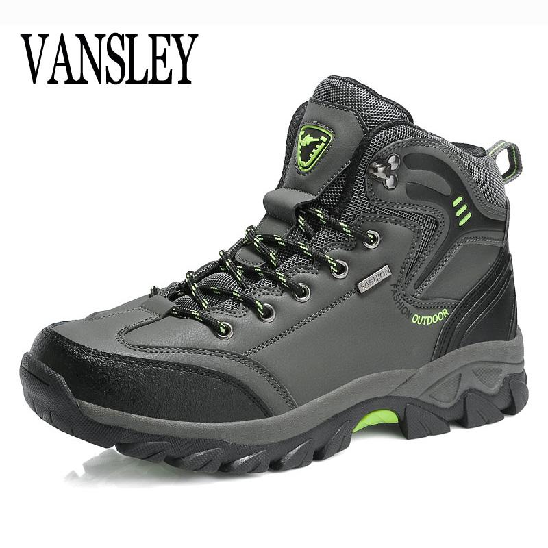 Compre Marca Otoño Invierno Zapatos De Trabajo Para Hombres De Gran Tamaño 39 47 Hombres Botas Impermeables Zapatillas De Deporte Tobillo Botas De