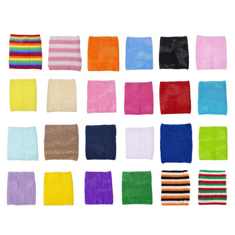 9x10inches Crochet TUTU TOP Baby Girl DIY Craft Tutu Dress Party Costumes Tube TOPS Girls Headband Tulle TUTU Supplies Gift