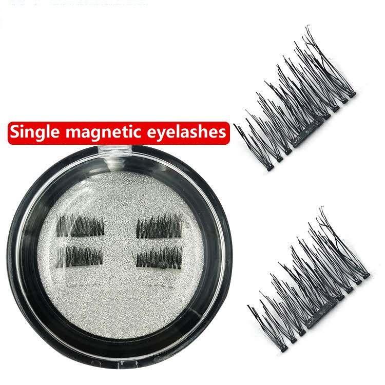 Magnetic Eye Lashes Single Magnetic False Eyelashes Extension Curl Full Strip Eyelash Magnetic Fake Eyelashes Eye Makeup