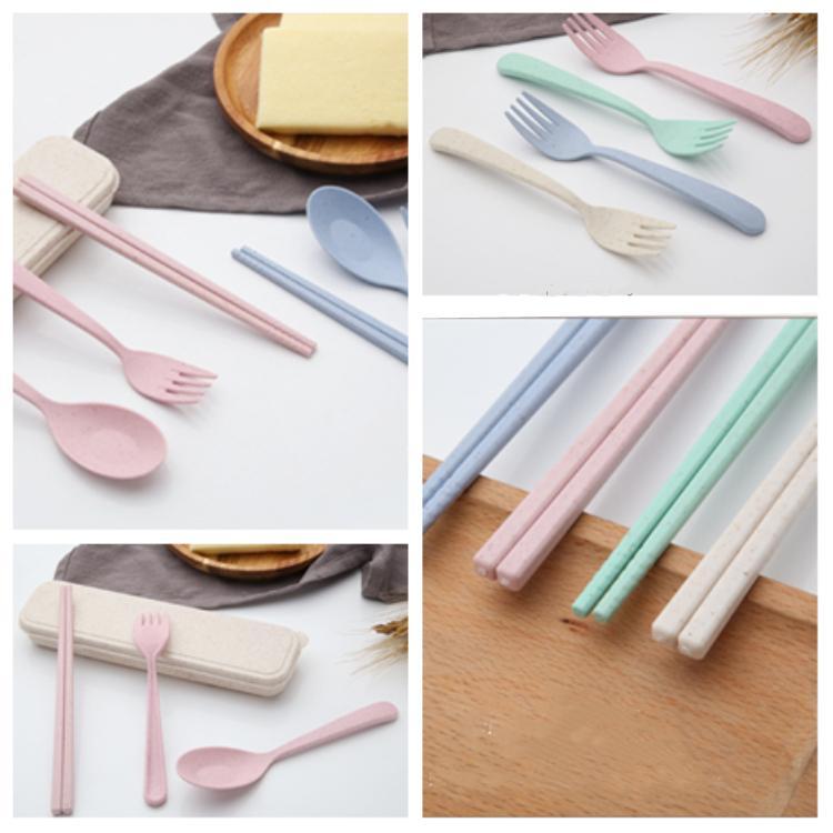 Titanium Chopsticks Camping Cutlery Children Chopsticks Portable Outdoor Tableware