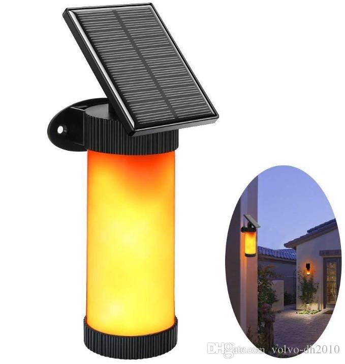 태양 LED 정원 빛 불꽃 깜박 거리는 램프 토치 빛 IP65 방수 야외 스포트 라이트 풍경 장식 Led 램프 Pathways LLFA