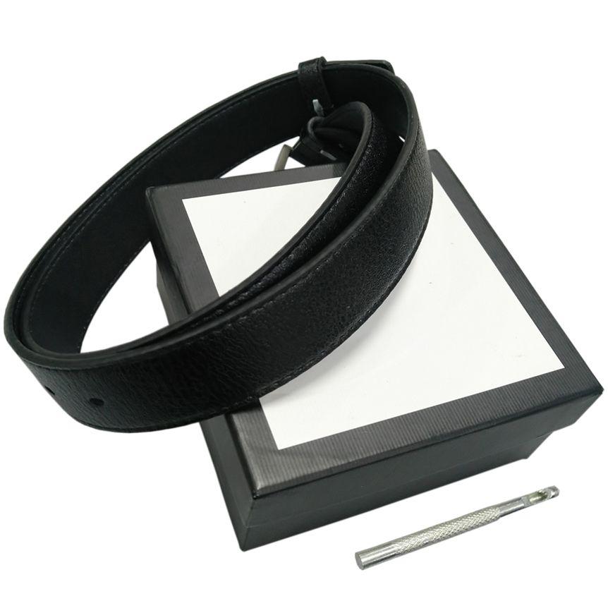 Cinture Womens Belt Mens cinghie di cuoio cinture nere delle donne serpente grande fibbia in oro Men Classic Belt Pearl casual Cintura White Box 75 332