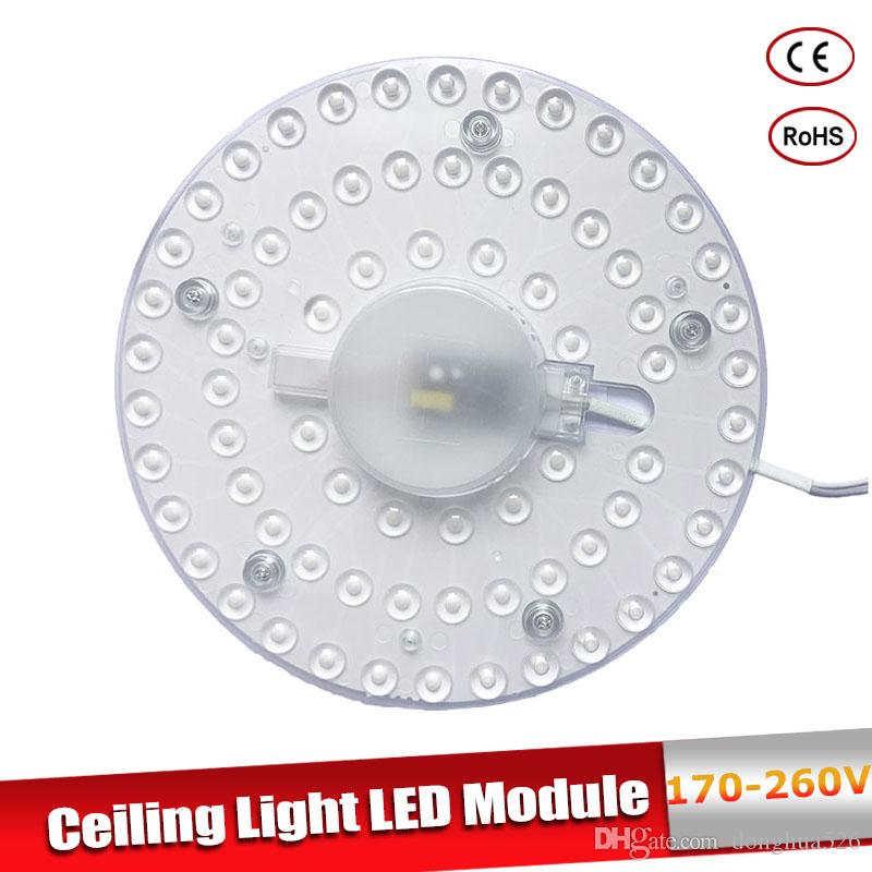Celling Lâmpada Lighting Fonte AC220V 18W 24W 36W Painel de LED Light Luz LED Board Octopus luz do tubo Substituir lâmpada LED teto