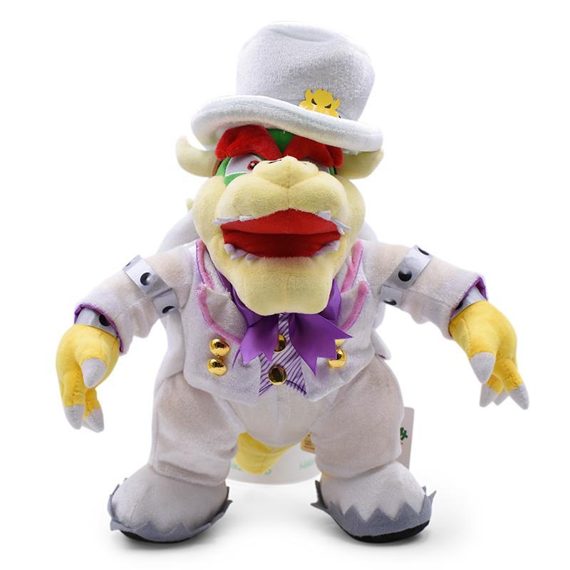 Super Mario Bowser Plüschtier Stofftier Plüsch Spielzeug Kuscheltier Geschenk DE