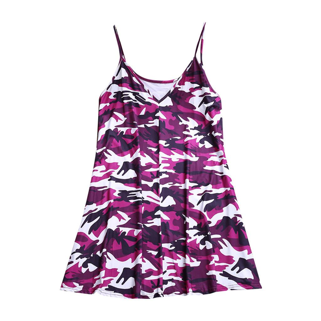 Women's T-shirt Vest Ladies Summer Fashion Harajuku Camouflage Sleeveless V Neck Top Vest Female Tank tops Tee Shirts