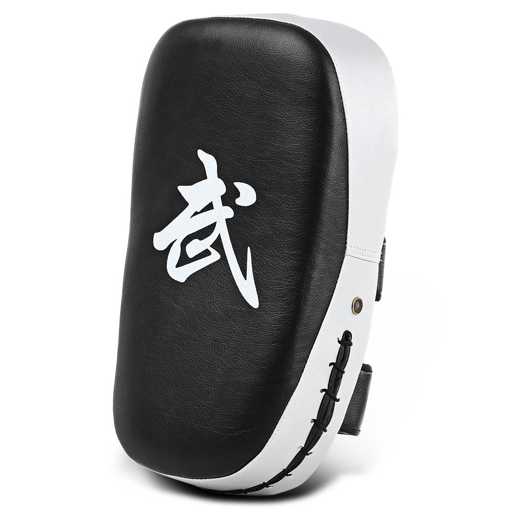 Leggero cuoio PU Punzonatura quadrata Sparring MMA Karate Muay Thai Boxing Pad Fitness Taekwondo Training Gear Foot Target
