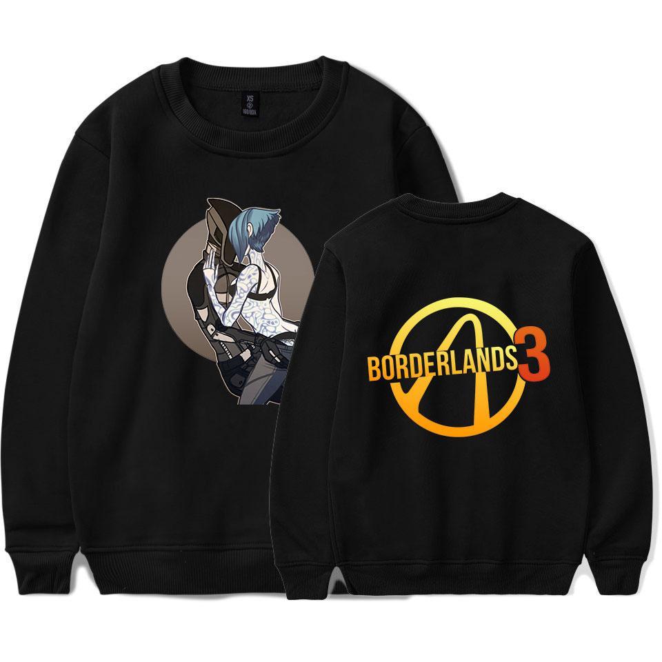 Herbst-Winter-NEUE Frauen-beiläufige Kleidung mit langen Ärmeln Pullover Designer Sweatshirts Druck löst Stil Plus Size