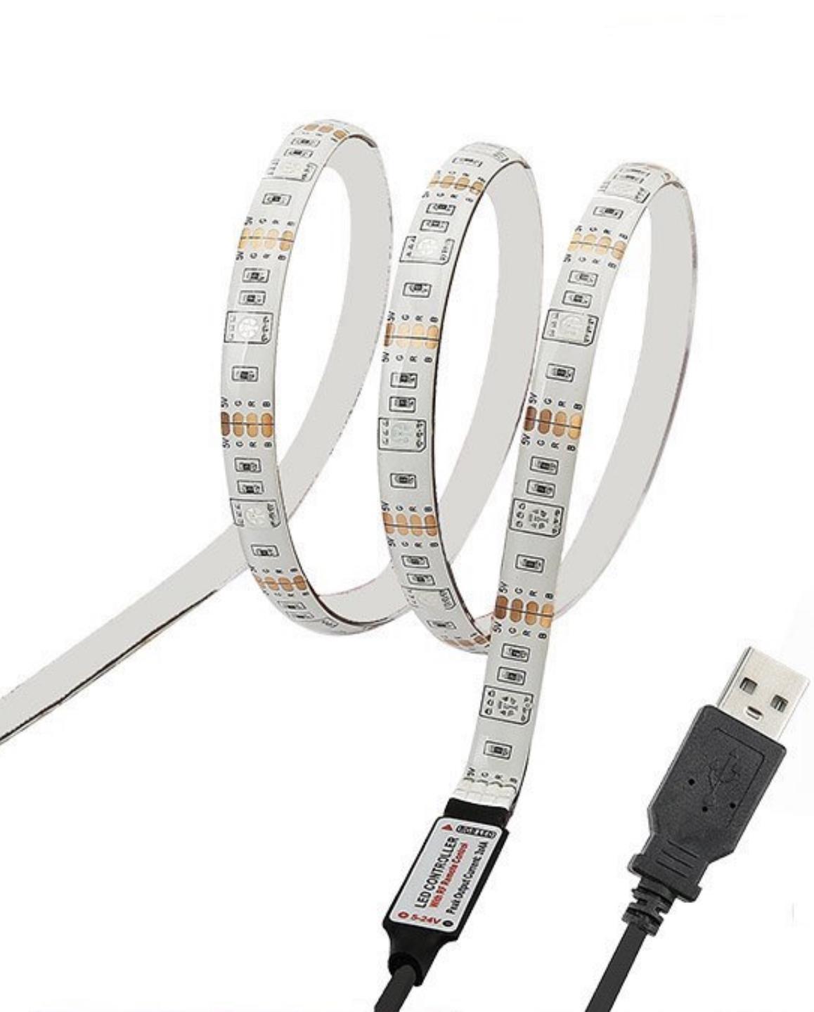 Yıldız Tarzı Işık LED Şerit Işıkları RGB 16.4FT / 5 M SMD 5050 DC12V Esnek Les Şeritler Işıklar 50LED / Metre 16 Sonfferent Static Renkler