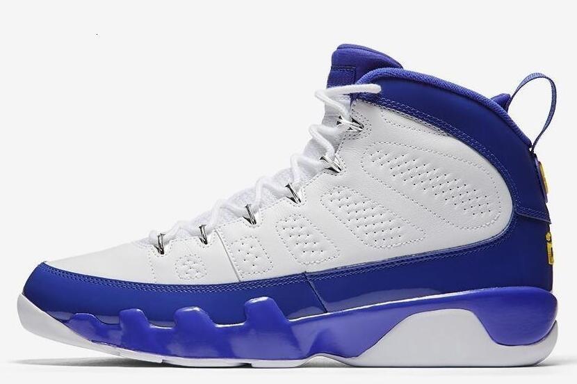 Ayakkabılar 9s Space Jam Erkekler Basketbol ABD 8-13 Siyah Kırmızı Mavi Sneakers Atletik Eğitici 9s Spor Shoes