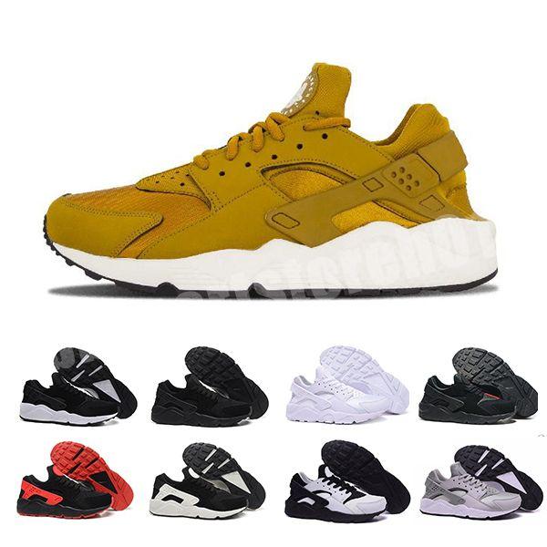 2020 Huarache 1 I Erkekler Kadınlar Ucuz Erkek Siyah Gökkuşağı Çok renkli Huaraches 1s Eğitmenler Sneakers Man Huraches Spor Ayakkabı BB Ayakkabı Koşu