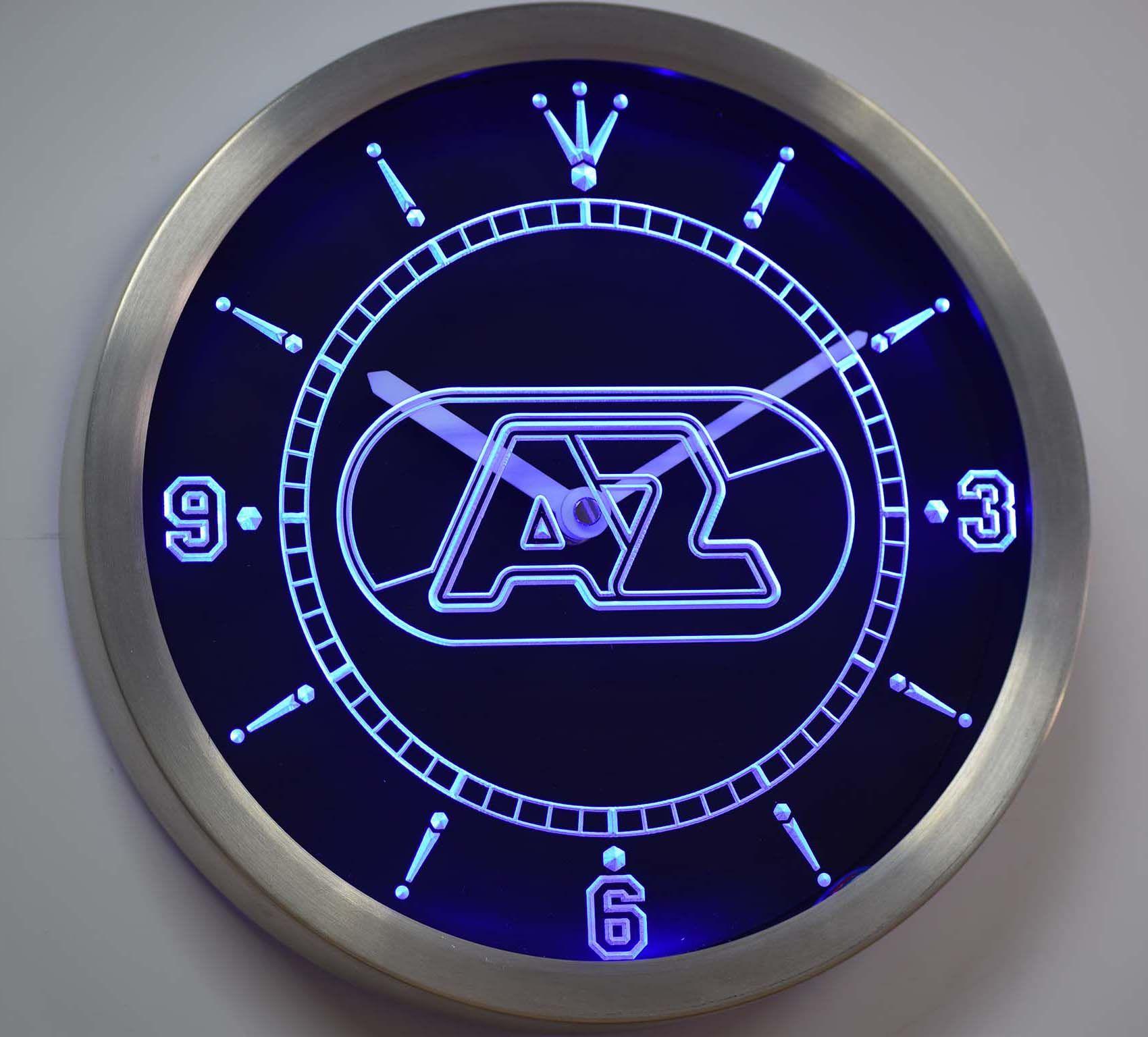 nc1013 الكمار الدوري الهولندي Zaanstreek ضوء النيون علامات ساعة الحائط LED