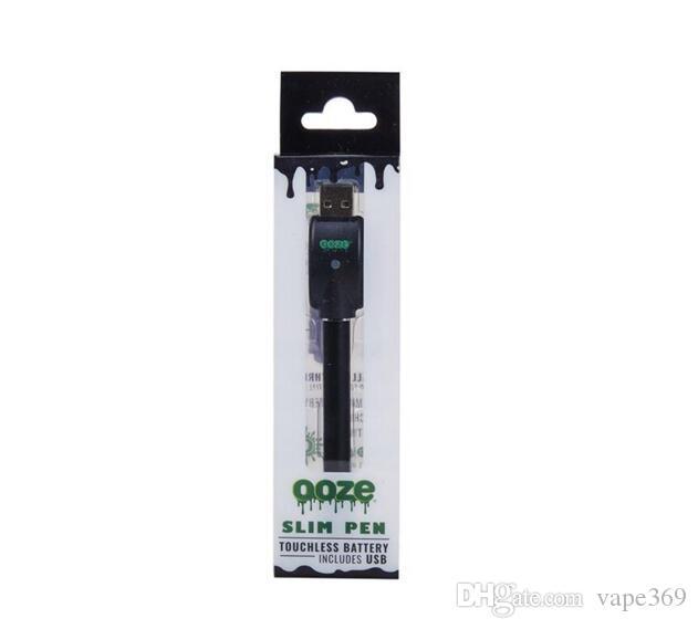 vape cartridges e cigarette preheating battery 510 slim pen preheated battery e cig extract oil cartridges smoking vaporizer DHL free