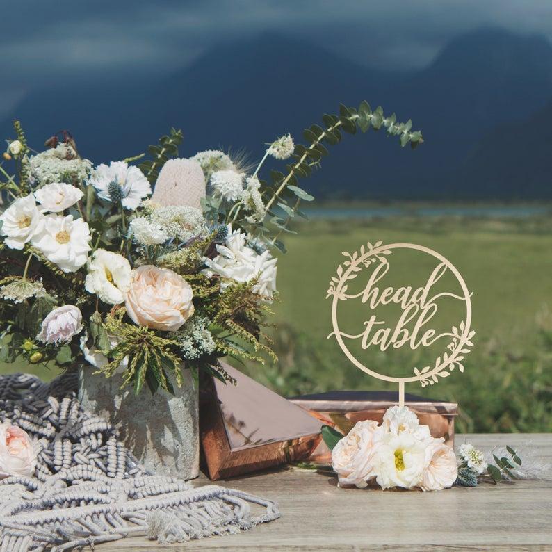 Personnalisez les étoiles Cake Topper - Cake Topper anniversaire - célébration d'anniversaire de mariage en bois