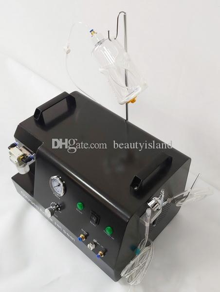 여드름 제거 피부 회춘을위한 휴대용 미니 고압 전능형 산소 제트 껍질 산소 주입 산소 하이드로 기계