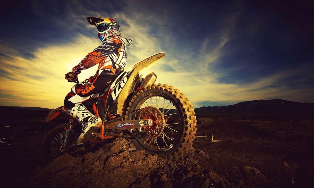 """MOTOCROSS DIRT BIKE JUMP SPORT PHOTO ART PRINT POSTER 40/""""x24/"""" 024"""