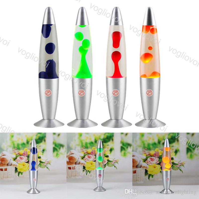 테이블 램프 25W 용암 램프 알루미늄베이스 왁스 화산 스타일 해파리 크리 에이 티브 실내 조명 침실 침대 옆 장식 빛 DHL