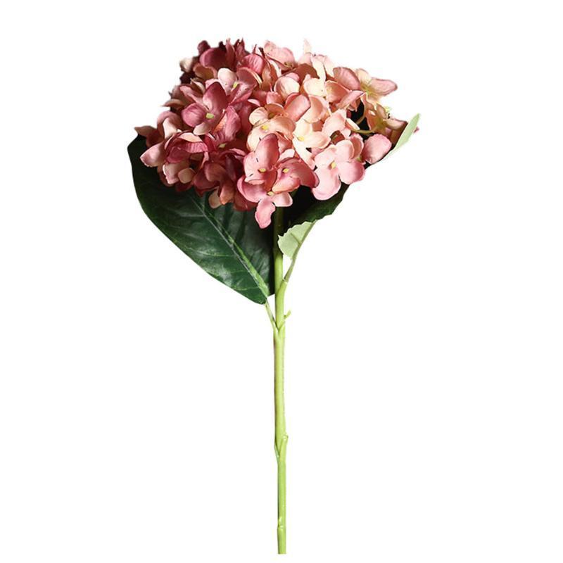 Fiore artificiale ortensia falso fiore di seta del partito della casa di nozze decorazione floreale di partito La decorazione sztuczne kwiaty nave di goccia 2020 NUOVO
