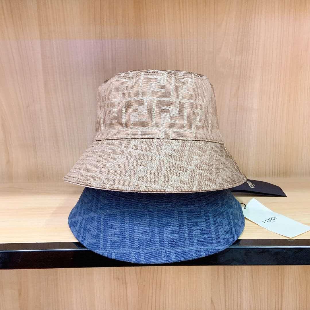 marca de moda de lujo Cubo sombreros carta de color de la barra de doble cara alta calidad del sombrero blanco negro clásico sombrero para los hombres y las mujeres recorrido del pescador