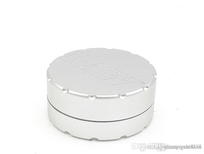 Высокое качество Щепка CNC табачное сырье для специй Херб Grinder 50мм алюминий 2layer металл курение сигарет мясорубки