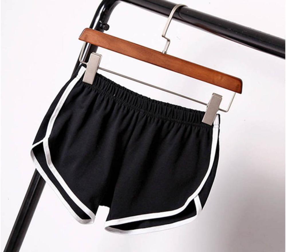 Mezcla mujer cortocircuitos de las señoras mujeres de los cortocircuitos del verano del algodón Etosell Pantalones cortos Pantalones Colores Contraste lateral abierto elástico de la cintura de las bragas cortas ocasionales