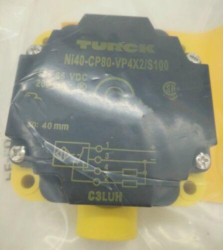 1PC NUOVO TURCK NI40-CP80-VP4X2 / S100 SENSORE trasporto veloce