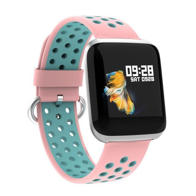 FANTEMO New Smart Watch Sports Fitness 1.3Inch Color Smart Heart Rate Message Push Watch Multi-Function Waterproof Dafit APP