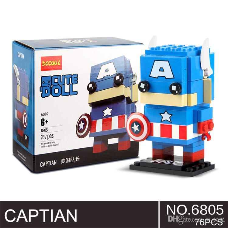 Super Hero, Collection Puzzle Toy, Spiderman Blocks & Model Building Bricks Minifig Kids Toys Gifts