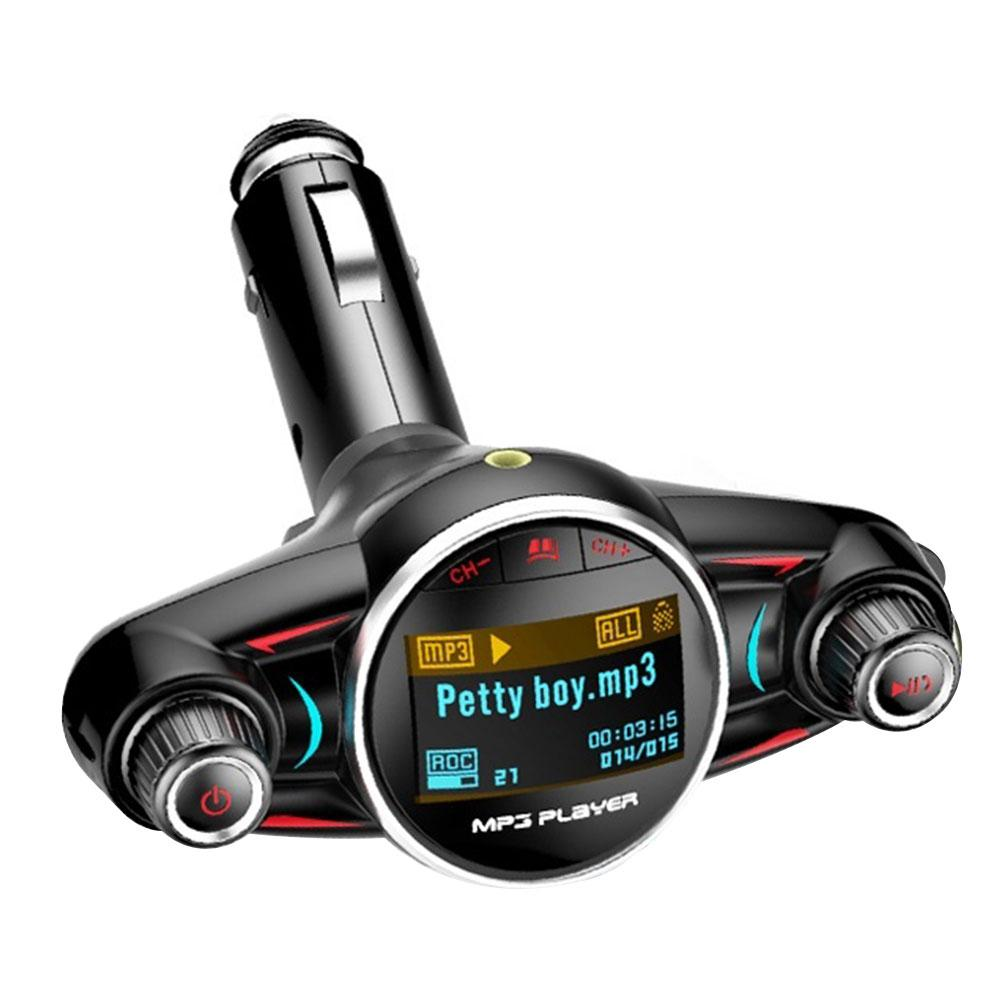 YENTL FM Transmitter FM Bluetooth beweglicher Adapter Freisprecheinrichtung Musik MP3 playerUniversal FM LED Audio