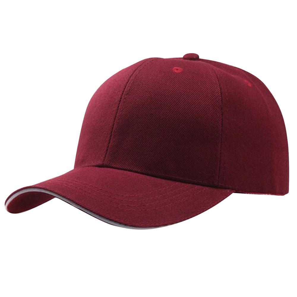 부르고뉴 빈티지 하라주쿠 단색 선 스크린은 여성 야구 모자 스냅 백 모자가 조정 viceras 파라 mujer의 #SMT을 힙합 빨간색